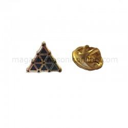Pin Masonic Triunghi 10 Puncte