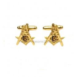 Butoni Camasa Cu Simboluri Masonice
