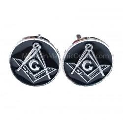 Butoni Cu Simboluri Masonice Rotunzi