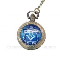 Ceas De Buzunar Cu Simboluri Masonice Freemason