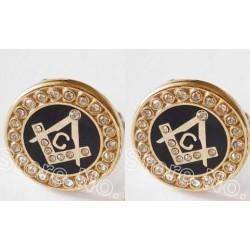 Butoni Gala cu simboluri masonice
