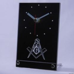 Ceas de masa LED simboluri Masonice