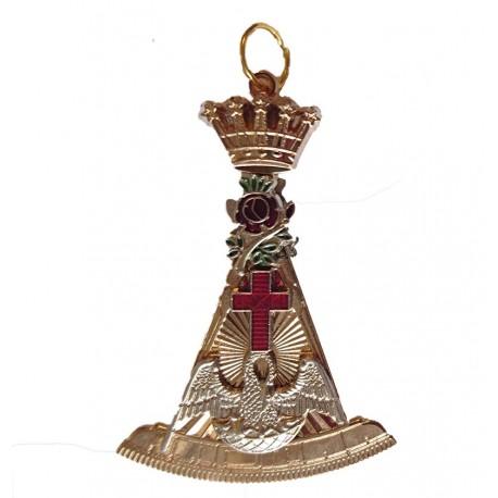 Bijuterie Coland Grad 18° Cavaler Roza-Cruce