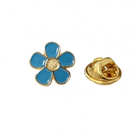 Pin Nu Ma Uita 12mm - Forget Me Not