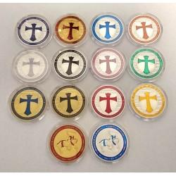 Set 15 Medalii Ordinul Cavalerilor Templieri