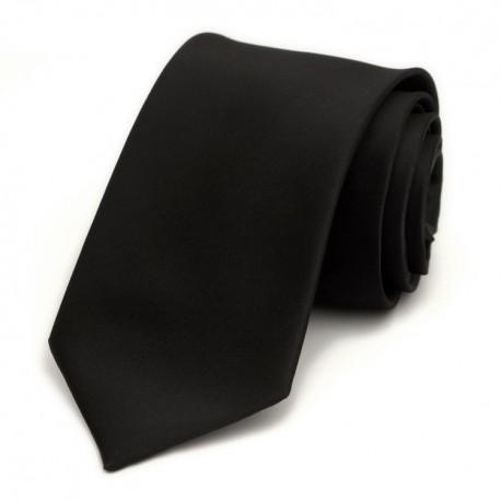 Cravata Premium Neagra Clasica