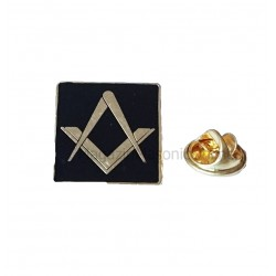 Pin Masonic Patrat 19mm